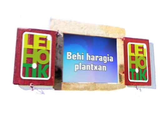 Ortzaize eskulan Behi haragia plantxan