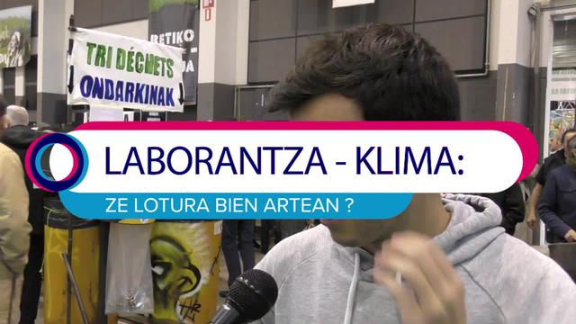 Lurrama 2019 Laborantza - klima ze lotura bien artean ?