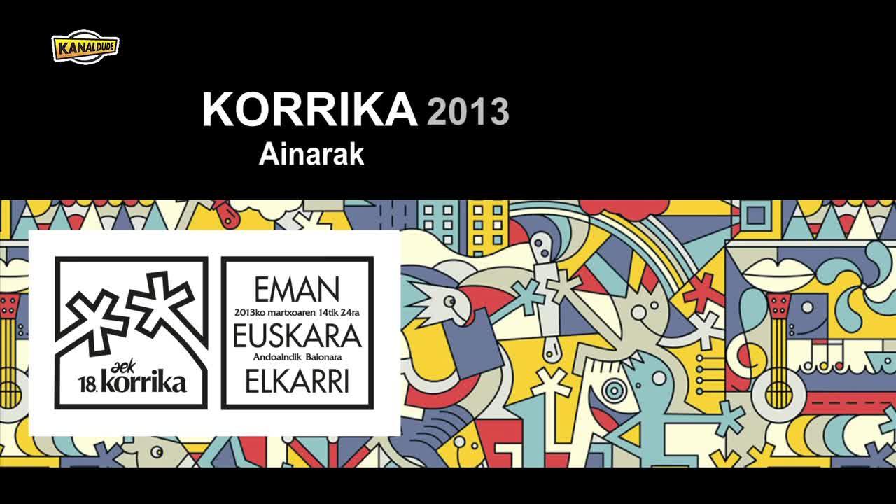 KORRIKA 2013 Ainarak