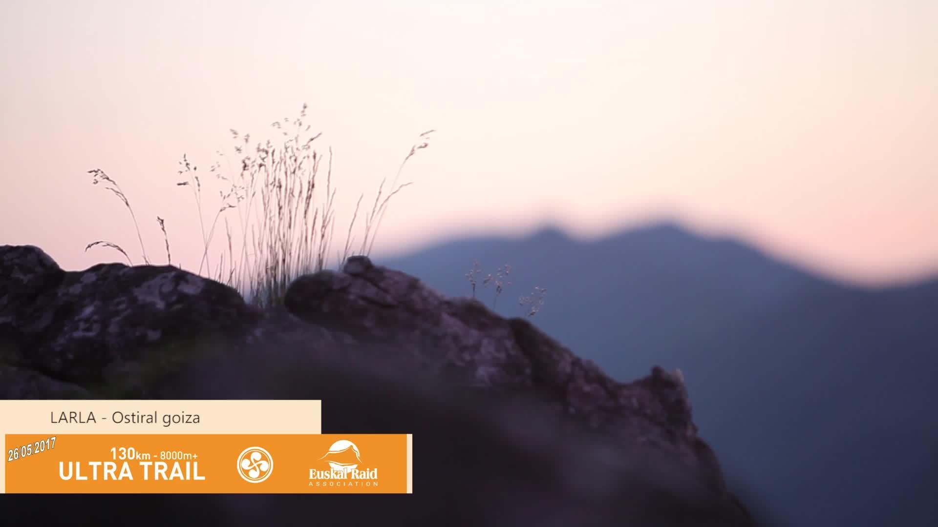 Euskal Trail 2017: Ultra Trail Larla inguruan