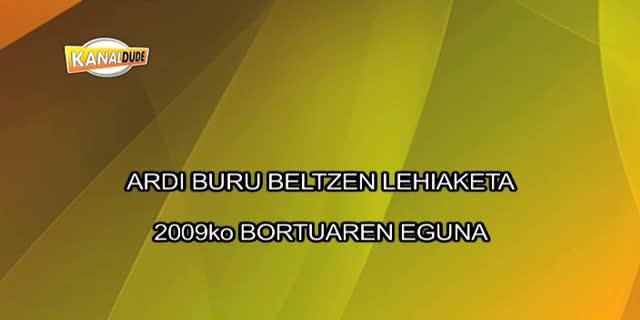 Bortuaren eguna 2009