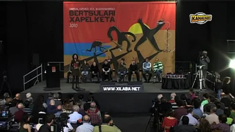 XILABA 2010 : Bertsularien agurra