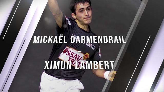 Eskulari Pro 2020 - Final laurdenak : Michael Darmendrail VS Ximun Lambert