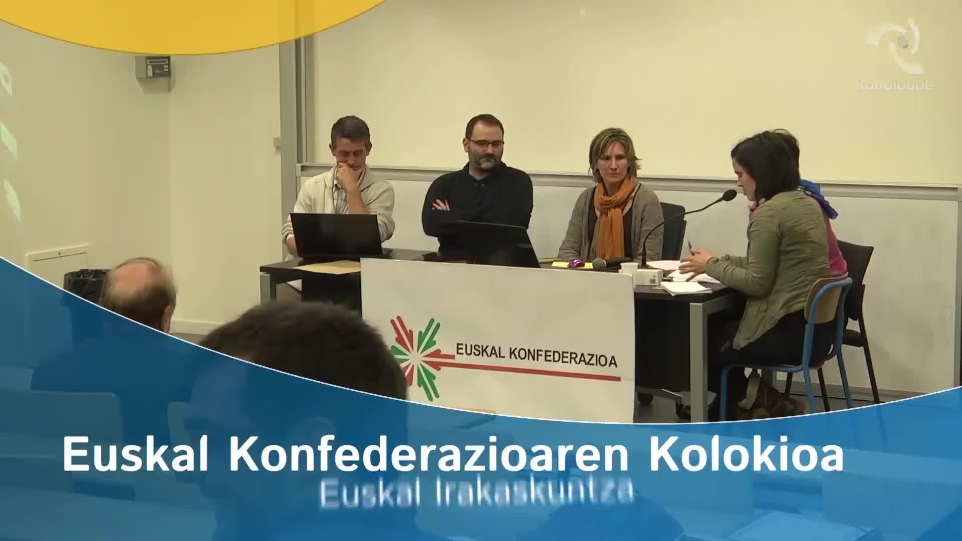 """""""Euskara 2020"""" kolokioa: Euskal Irakaskuntza"""