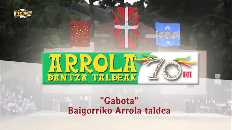 ARROLA dantza taldeak 70 urte