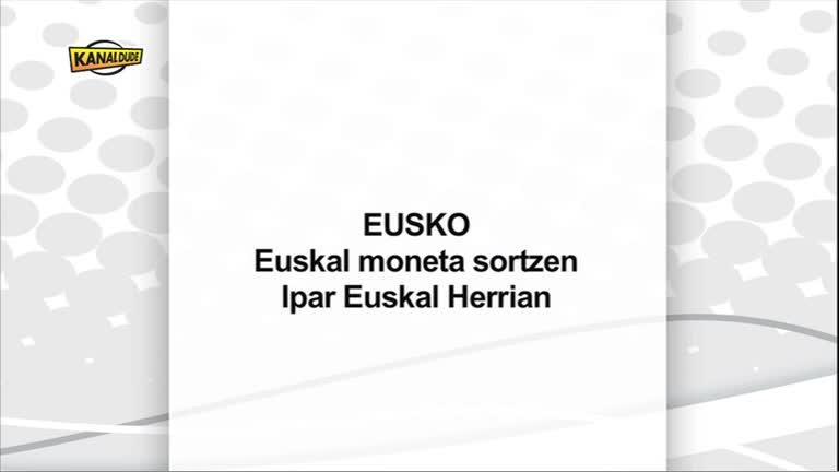 Eusko-Euskal moneta bidean EUS-FR st