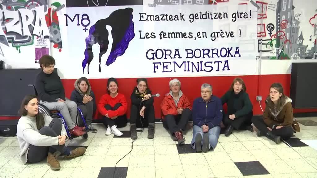M8 greba feministara deialdia