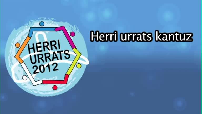 HERRI URRATS 2012 Kantuz