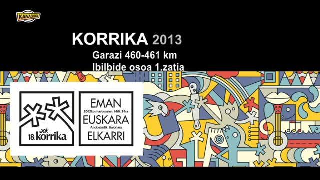 Korrika 2013: KM 460-461 Garazi