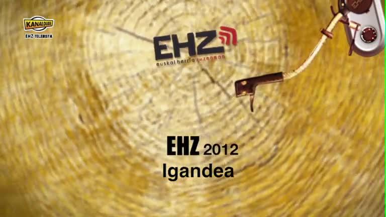 EHZ 2012 : Igandea