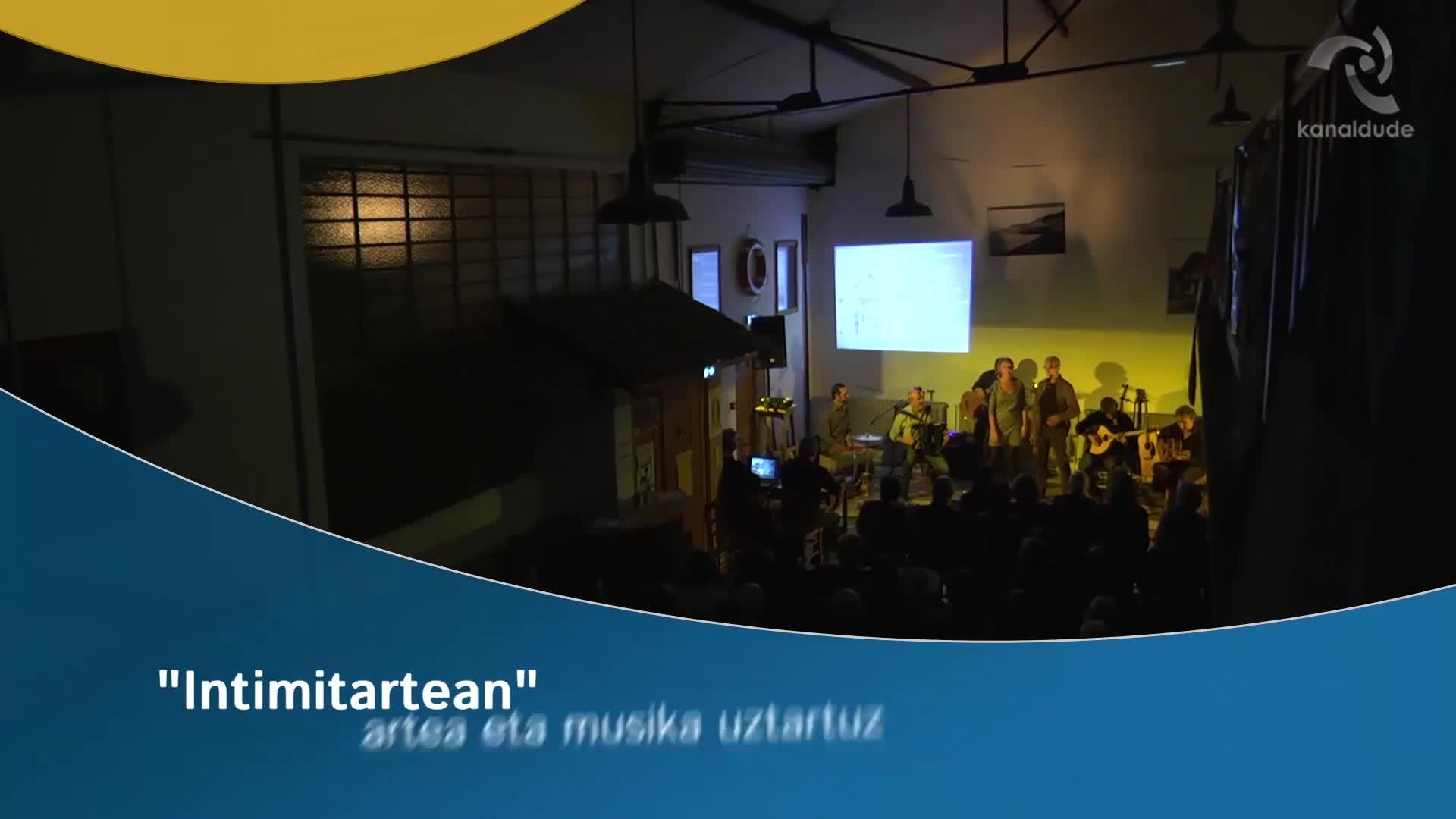 """""""Intimitartean"""": artea eta musika uztartuz"""