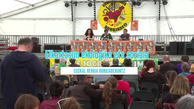 Elkartasun ekologiko eta soziala: Euskal Herria burujaberuntz