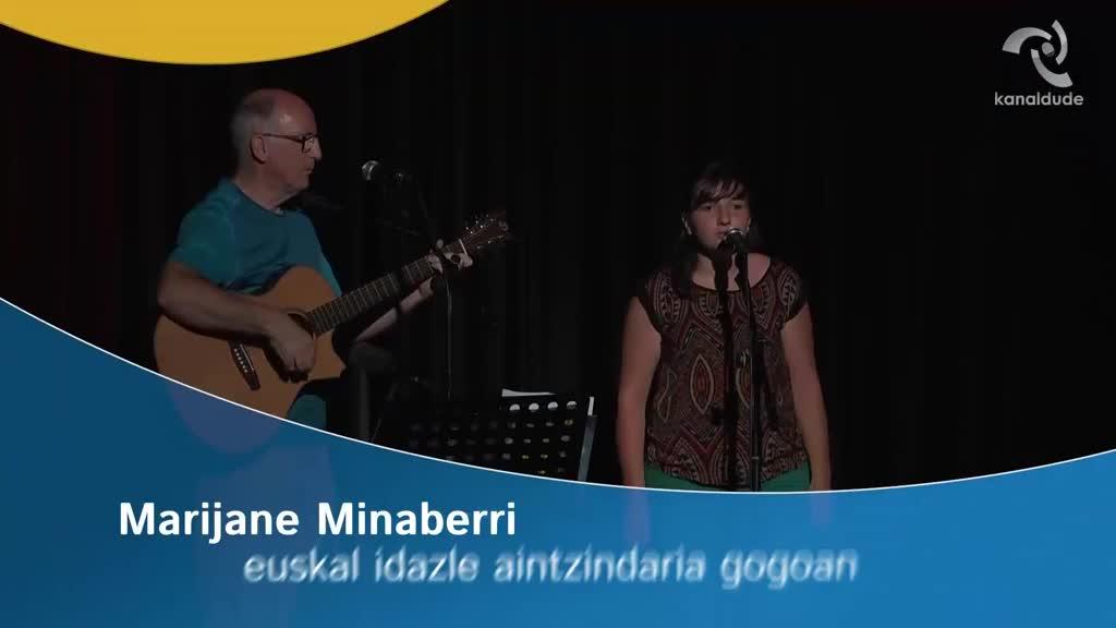 Marijane Minaberri euskal idazle aintzindaria gogoan