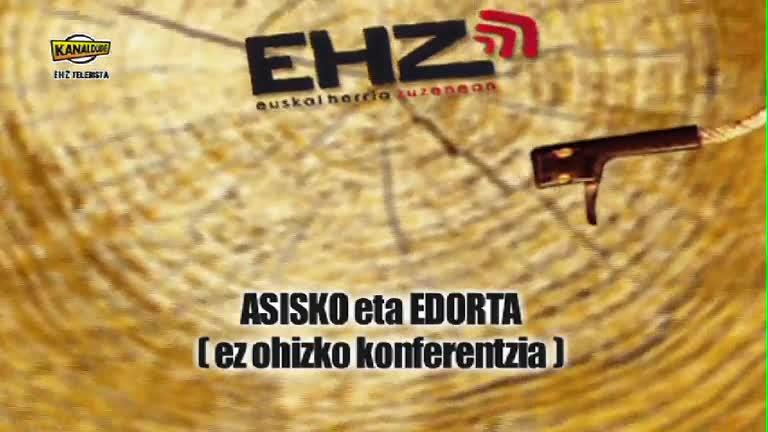 EHZ 2012 : Asisko eta Edorta (ez ohizko konferentzia)