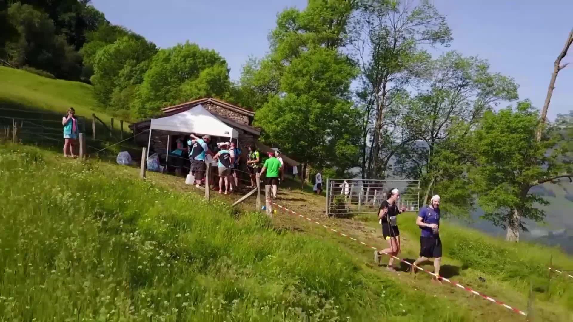 Euskal Trail 2017: Ahartzan gaindi