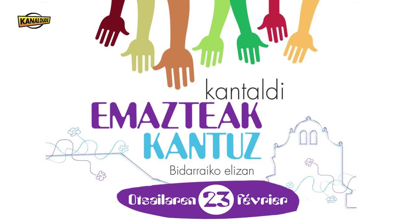 """""""Emazteak kantuz"""" kantaldia: Lauburu taldeak """"Ene ama zenari"""""""