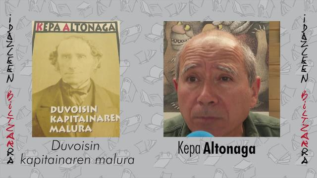 Idazleen Biltzarra 2019 - Kepa Altonaga