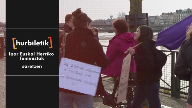 Ipar Euskal Herriko feministak saretzen
