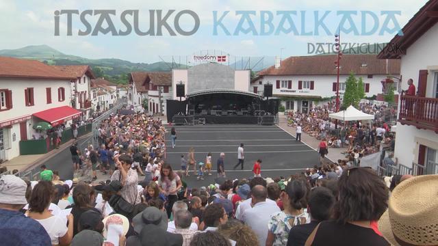 """""""Datozkigunak"""" Itsasuko kabalkada"""