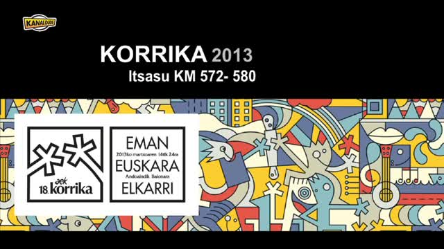 KORRIKA 2013: KM 572 580 Itsasu