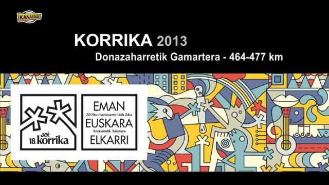 Korrika 2013: Donazaharre Gamarte