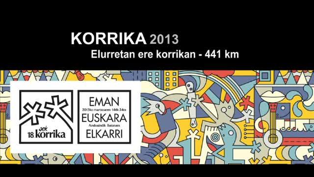 Korrika 2013: KM 441 Elurretan ere korrikan