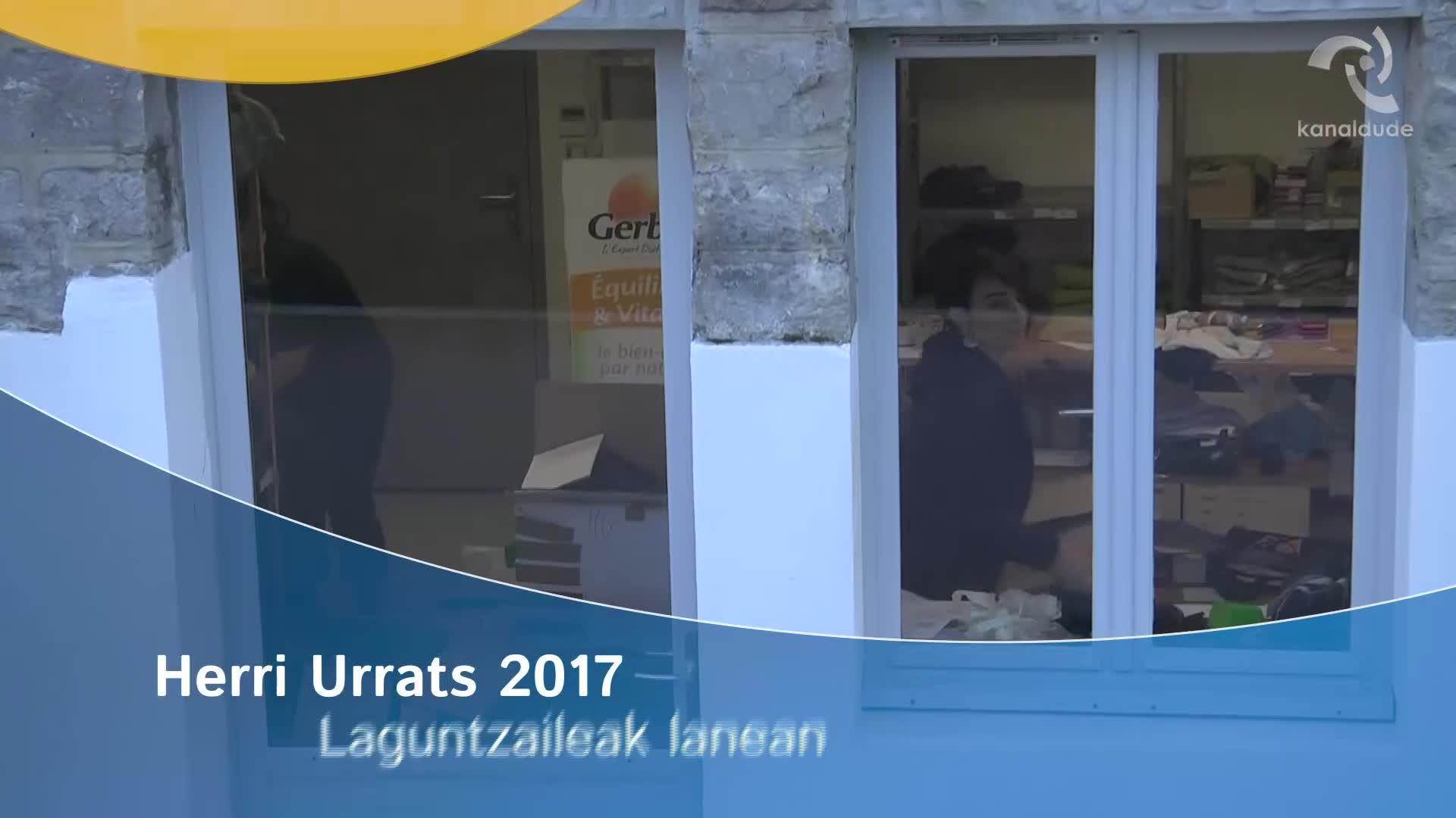 Herri Urrats 2017: laguntzaileak lanean