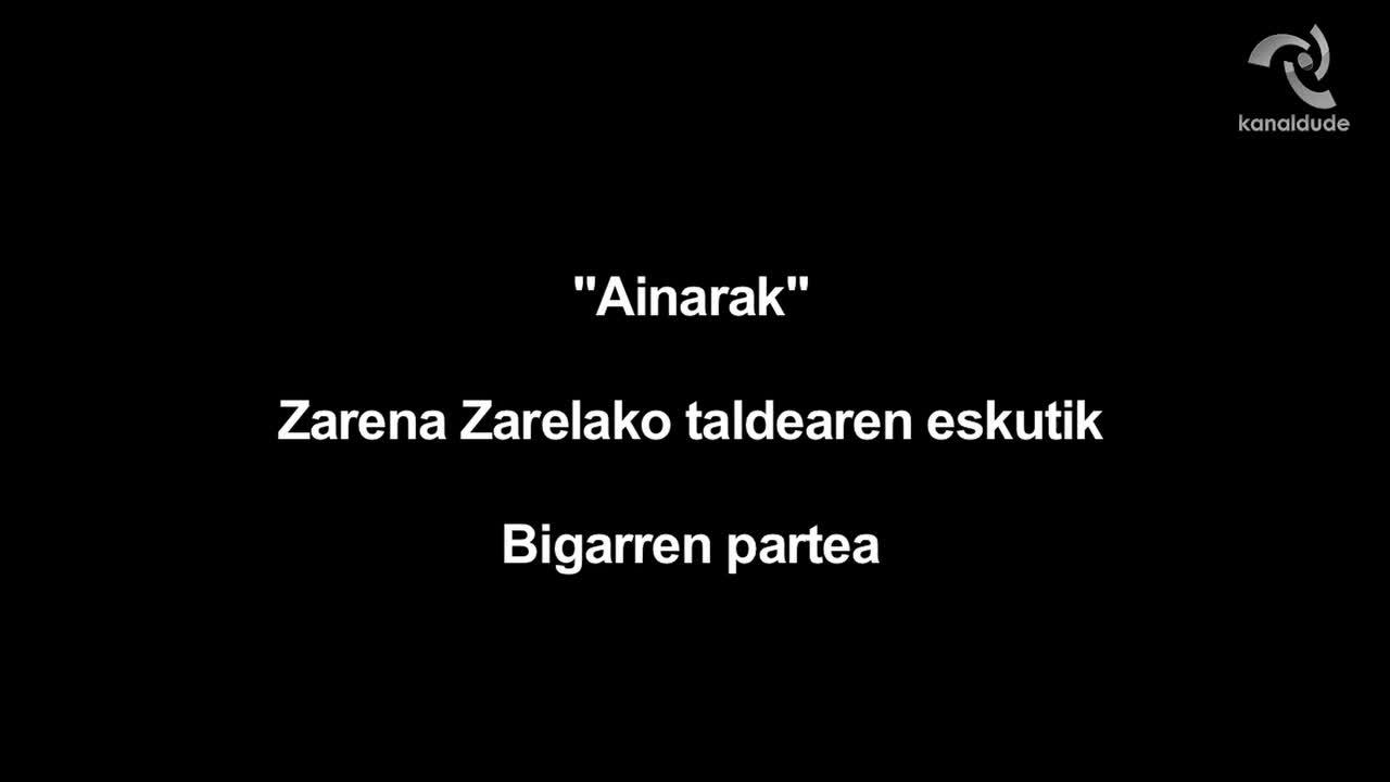 """""""Ainarak"""" ikusgarria Zarena Zarelako dantza taldeak eskeinirik (2.zatia)"""