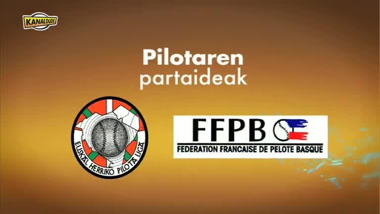 PILOTA : Pala pilota hutsarekin, Lehen mailako emazteen Finala
