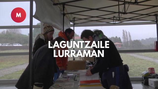 Lurrama 2019 Laguntzaileak Lurraman