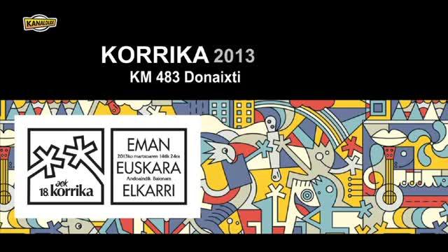 KORRIKA 2013: KM 483 Donaixti