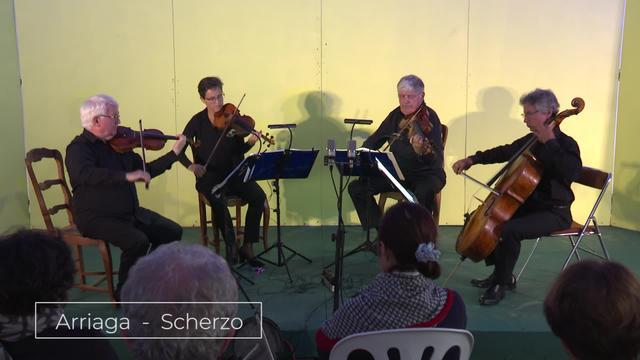 Bunuze Inxausetan -  Musika klasiko kontzertua - Arriaga Scherzo