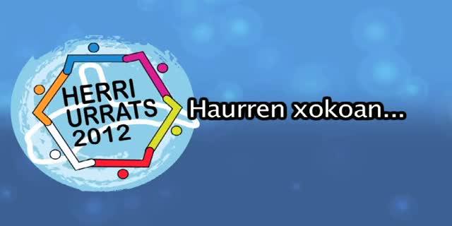 HERRI URRATS 2012 Haurren Xokoan